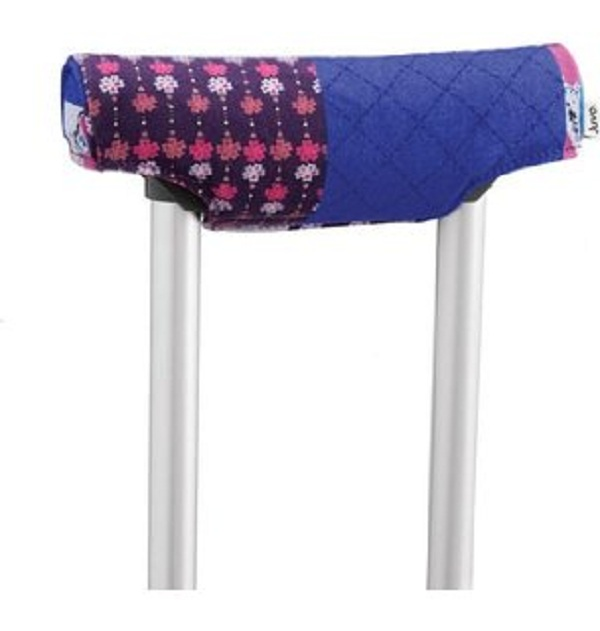Crutches with Stylish Covers