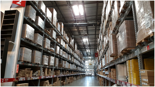 pallet racking and industrial shelving