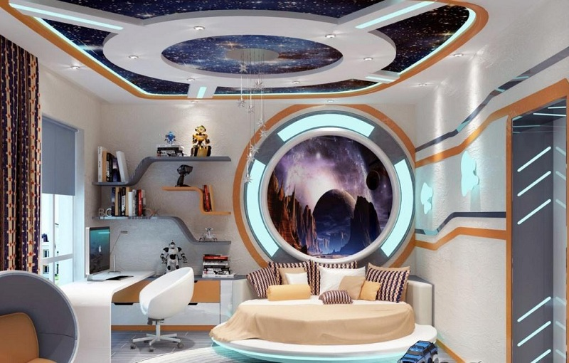Space Design In The Interior Of A Room Or Apartment