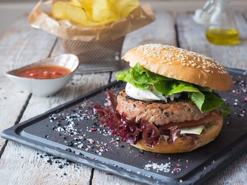 The Recipe Of Tuna Burger