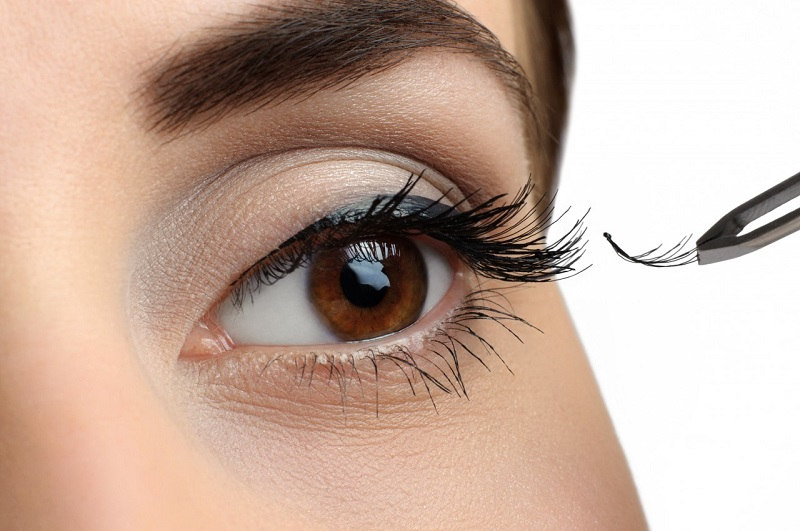 Types of false eyelashes