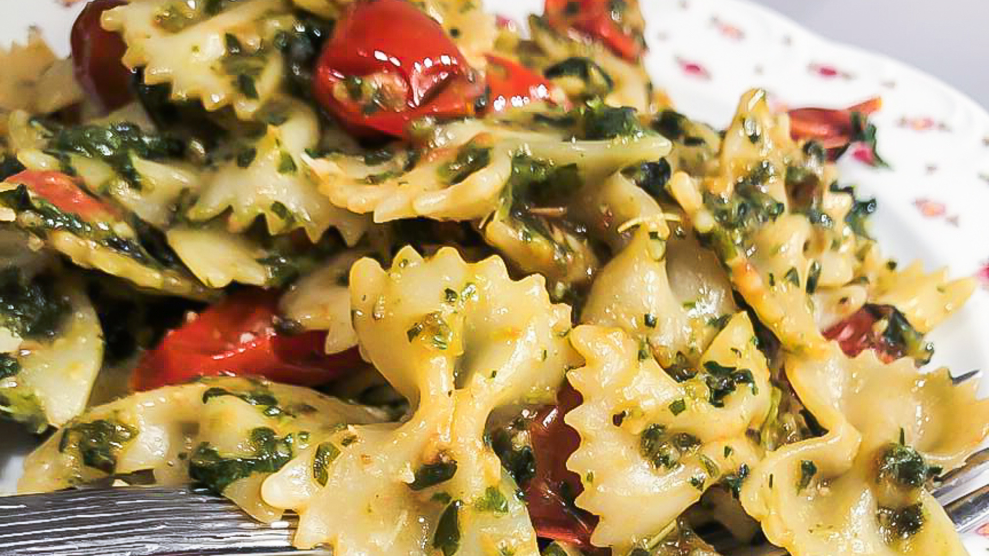 How to cook farfalle pasta in the microwave